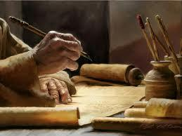 hand-writing-on-parchment