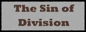 sin-of-division
