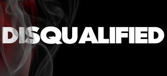 disqualified